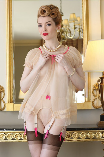 Sheer Ruffle Cover Up - SALE