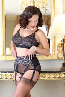 Coquette Lace Garter Belt - SALE